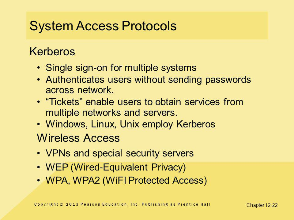 System Access Protocols