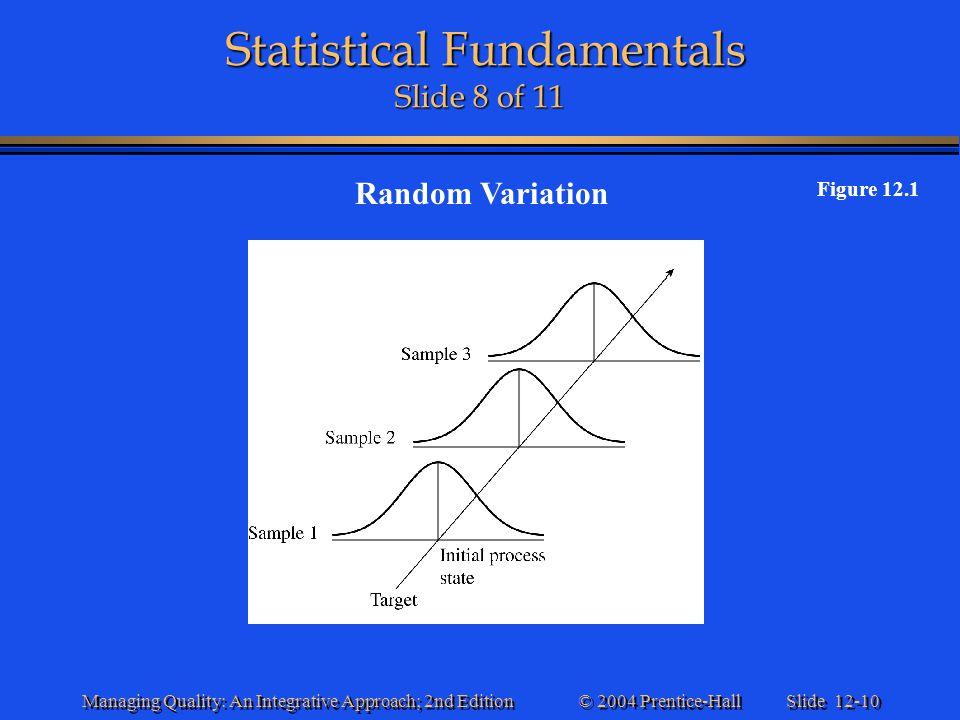 Statistical Fundamentals Slide 8 of 11