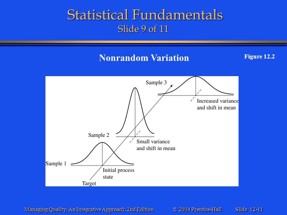 Statistical Fundamentals Slide 9 of 11