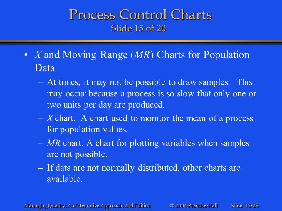 Process Control Charts Slide 15 of 20