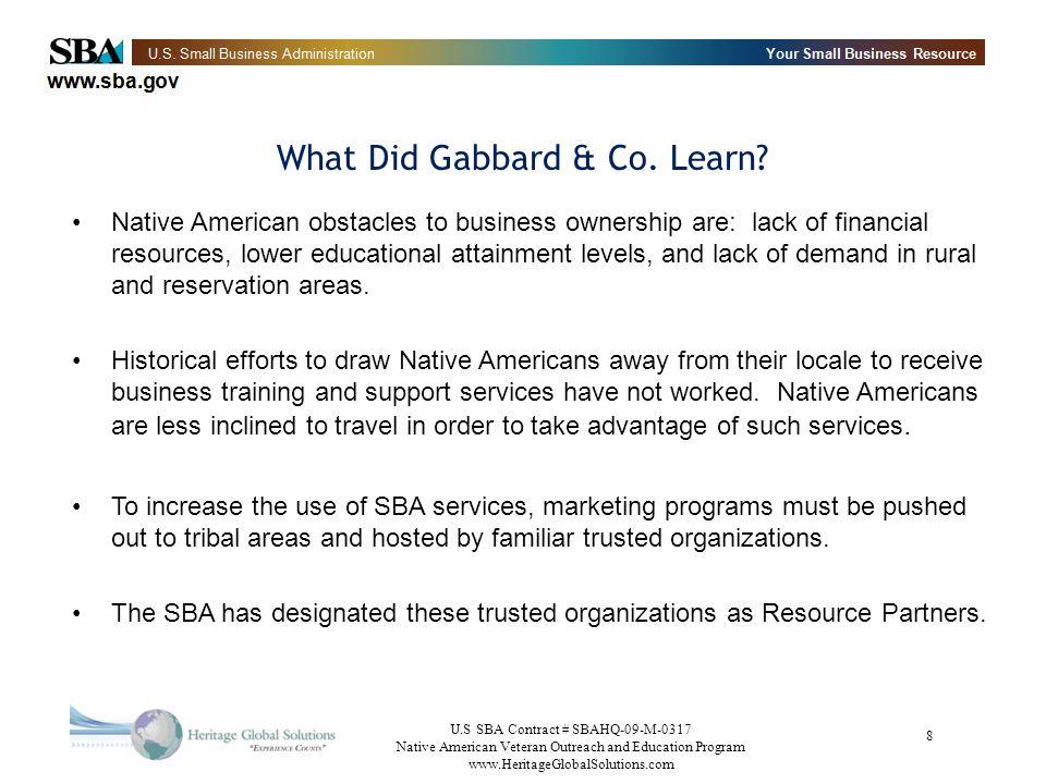 What Did Gabbard & Co. Learn