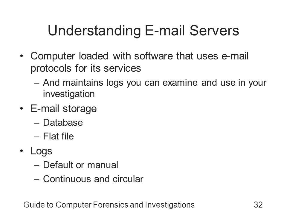 Understanding E-mail Servers