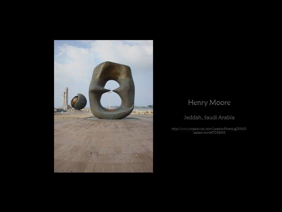 Henry Moore Jeddah, Saudi Arabia