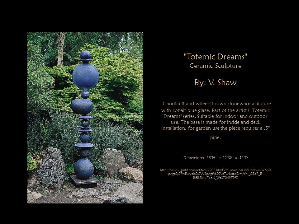 Totemic Dreams By: V. Shaw