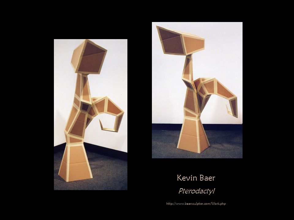 Kevin Baer Pterodactyl http://www.baersculptor.com/Work.php