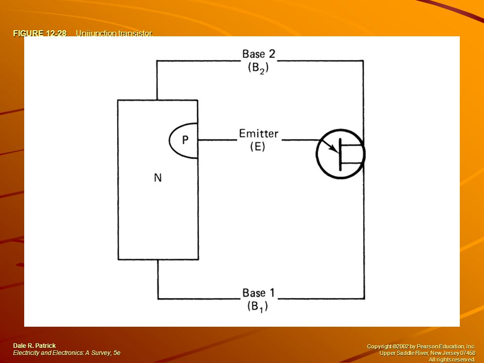 FIGURE 12-28 Unijunction transistor.