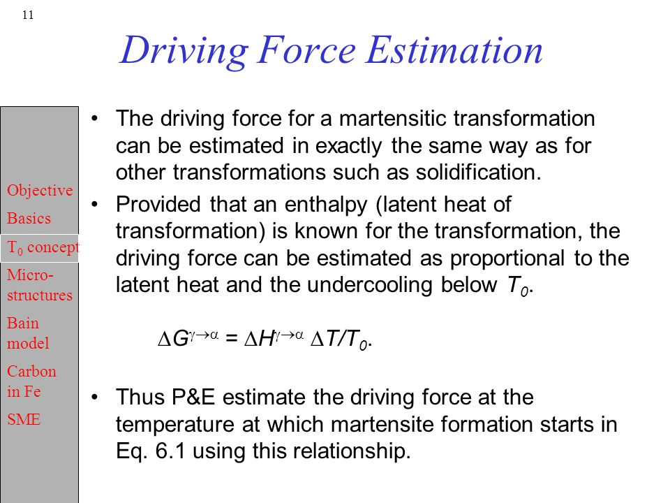 Driving Force Estimation