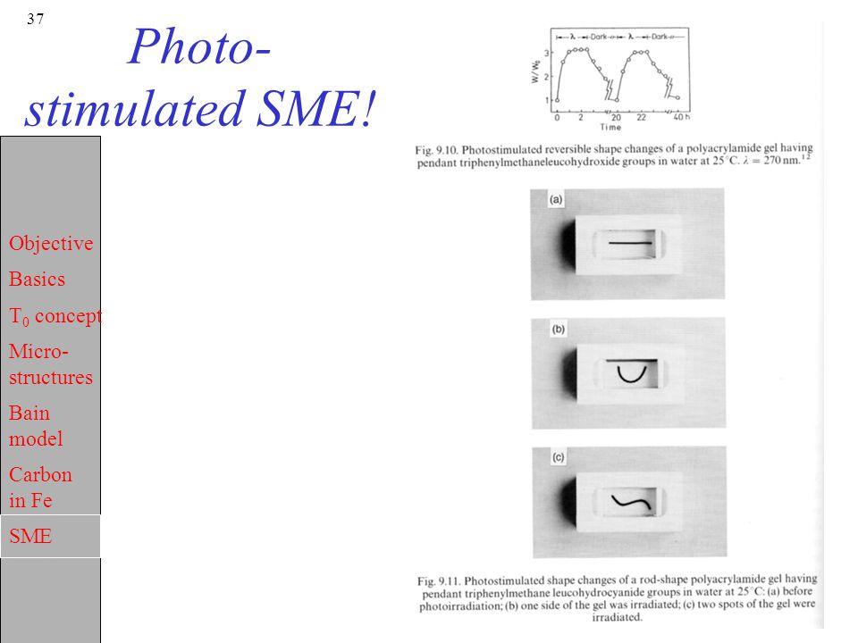Photo-stimulated SME!