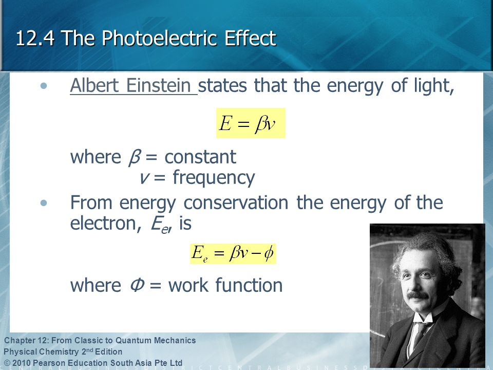 12.4 The Photoelectric Effect