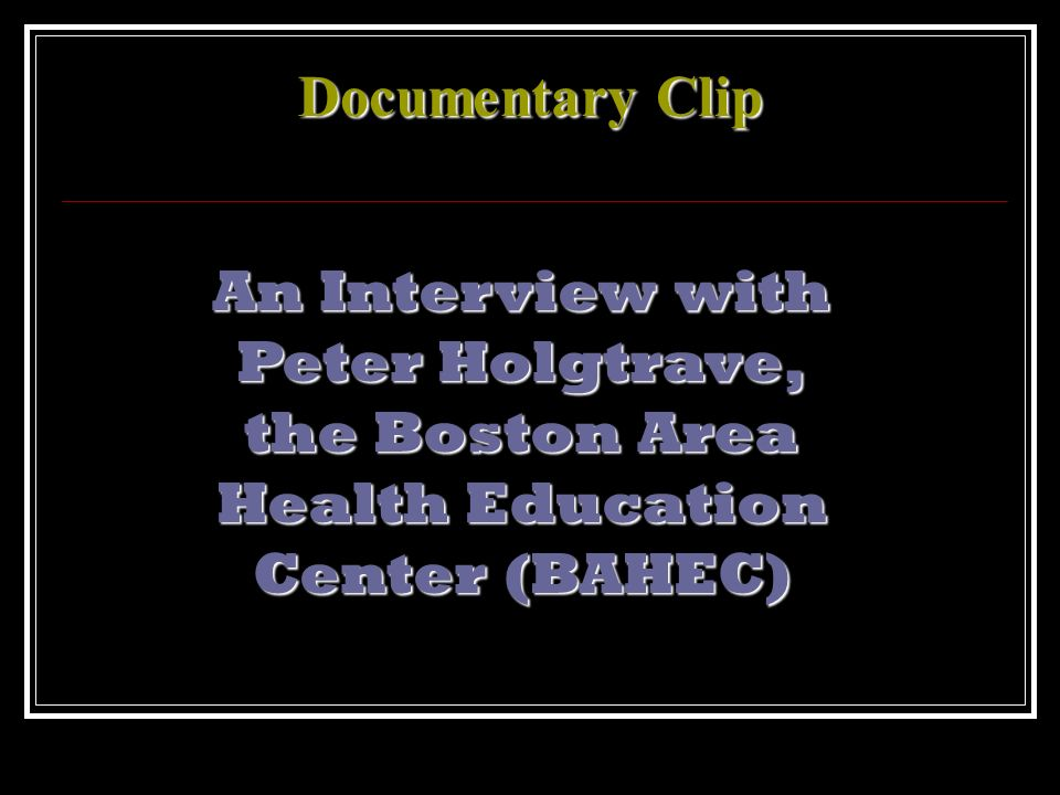 An Interview with Peter Holgtrave,