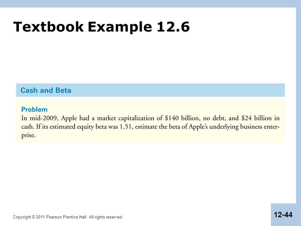 Textbook Example 12.6