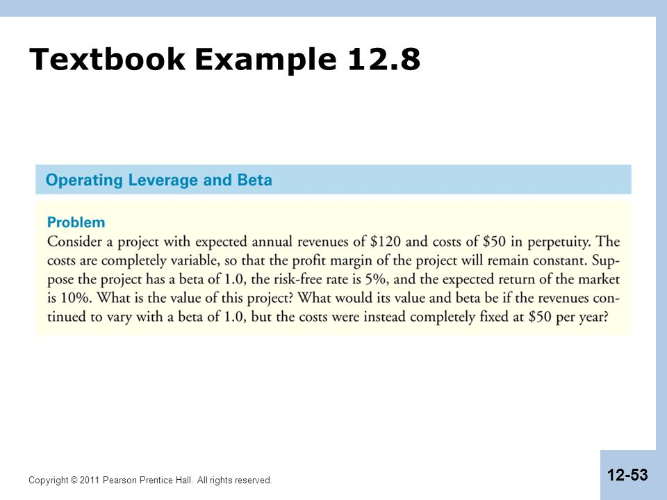 Textbook Example 12.8