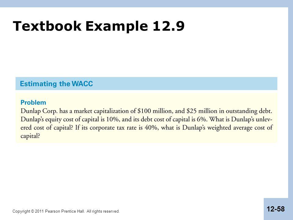 Textbook Example 12.9