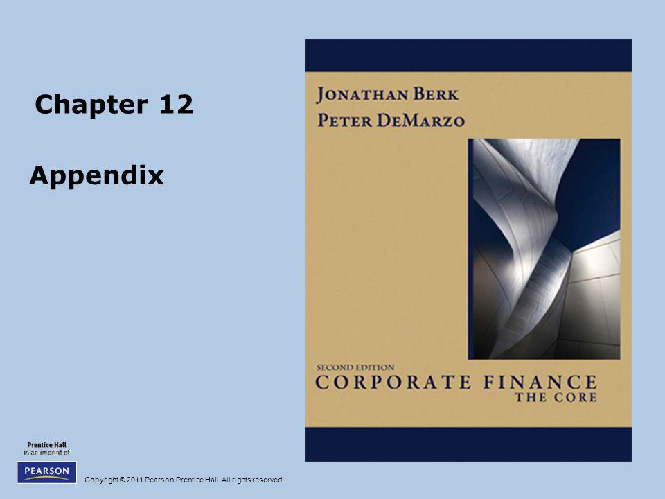 Chapter 12 Appendix