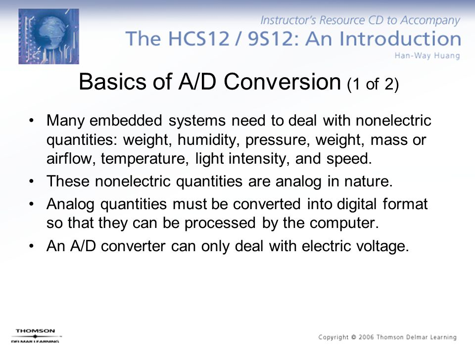 Basics of A/D Conversion (1 of 2)