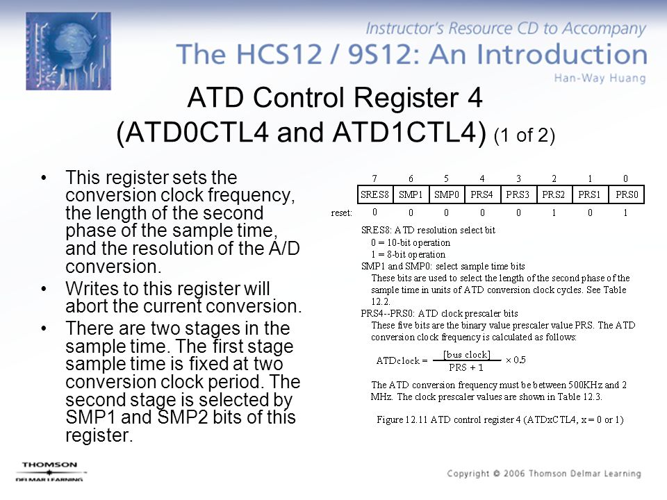 ATD Control Register 4 (ATD0CTL4 and ATD1CTL4) (1 of 2)