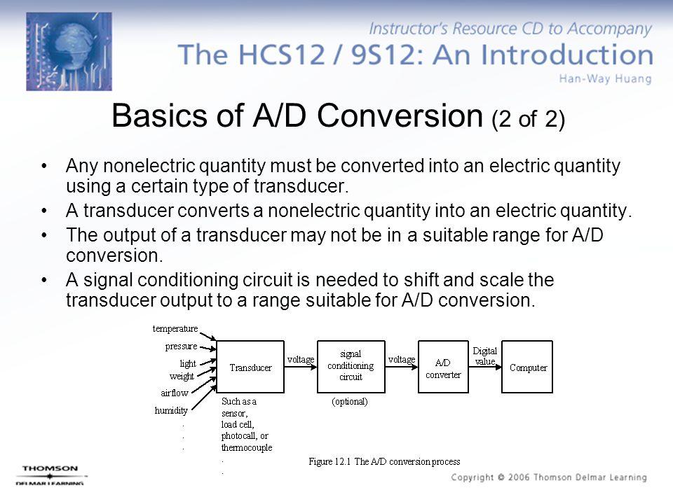 Basics of A/D Conversion (2 of 2)