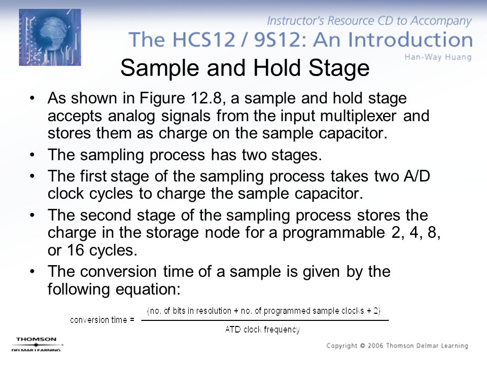Sample and Hold Stage