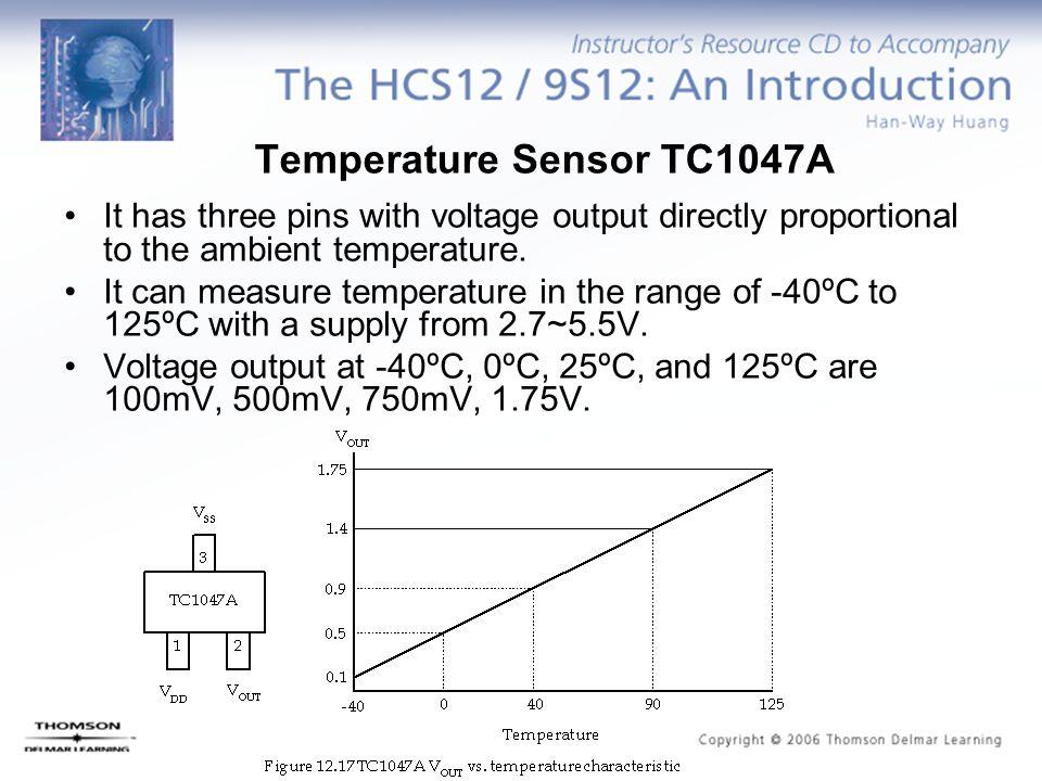 Temperature Sensor TC1047A