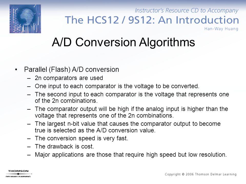 A/D Conversion Algorithms