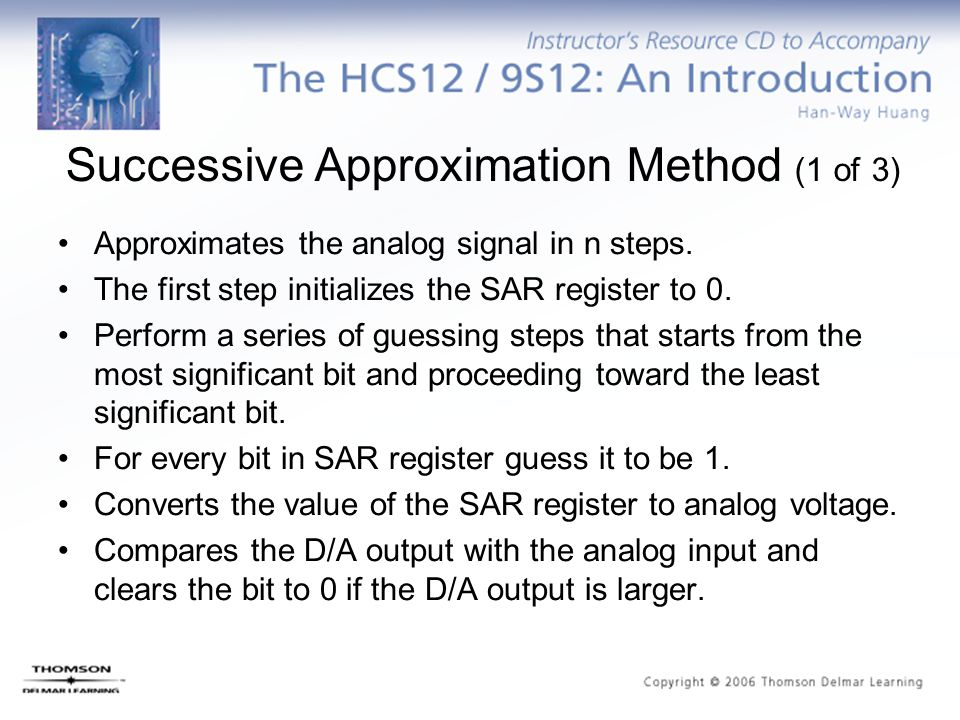 Successive Approximation Method (1 of 3)