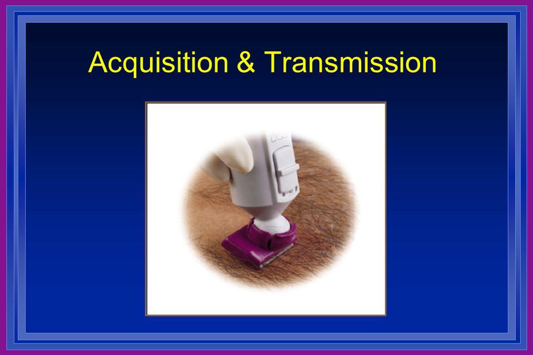 Acquisition & Transmission