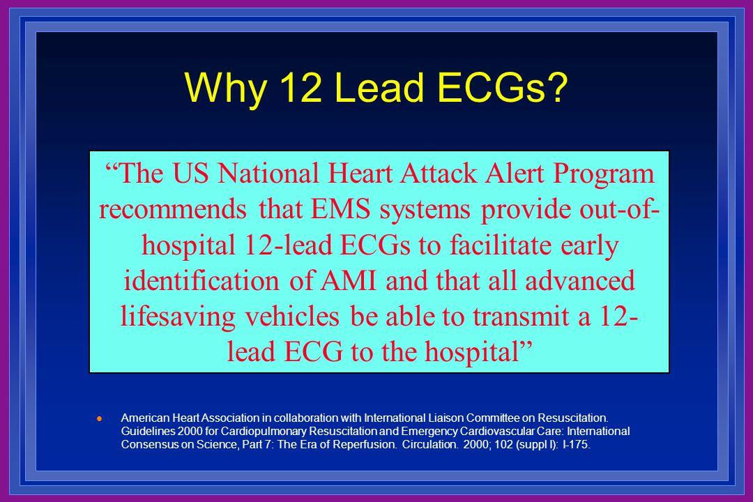 Why 12 Lead ECGs