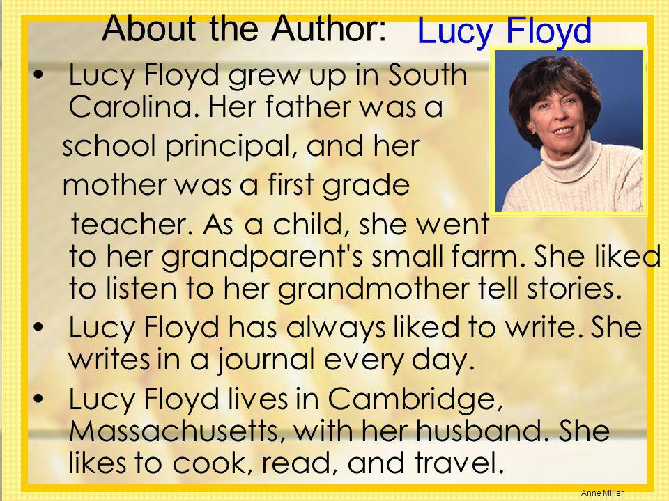 Lucy Floyd About the Author:
