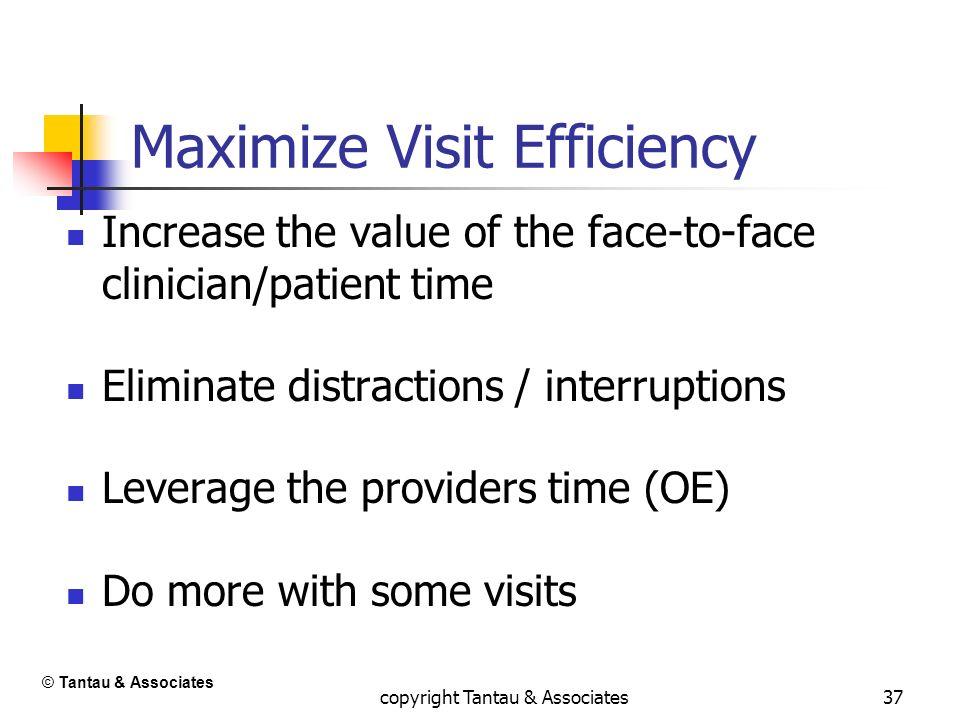 Maximize Visit Efficiency