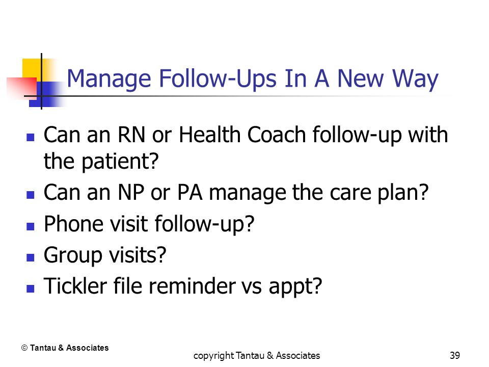 Manage Follow-Ups In A New Way
