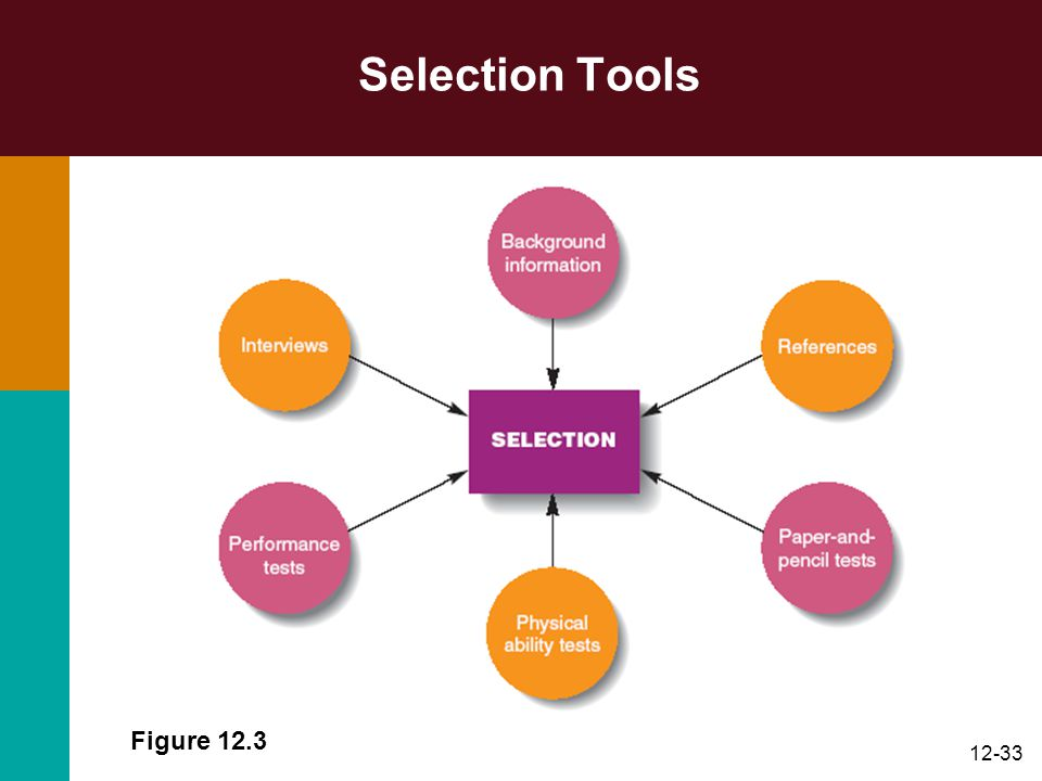 Selection Tools Figure 12.3
