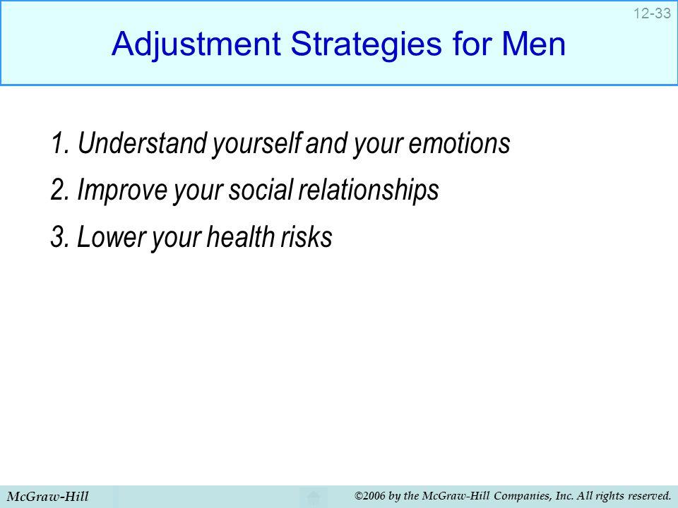 Adjustment Strategies for Men