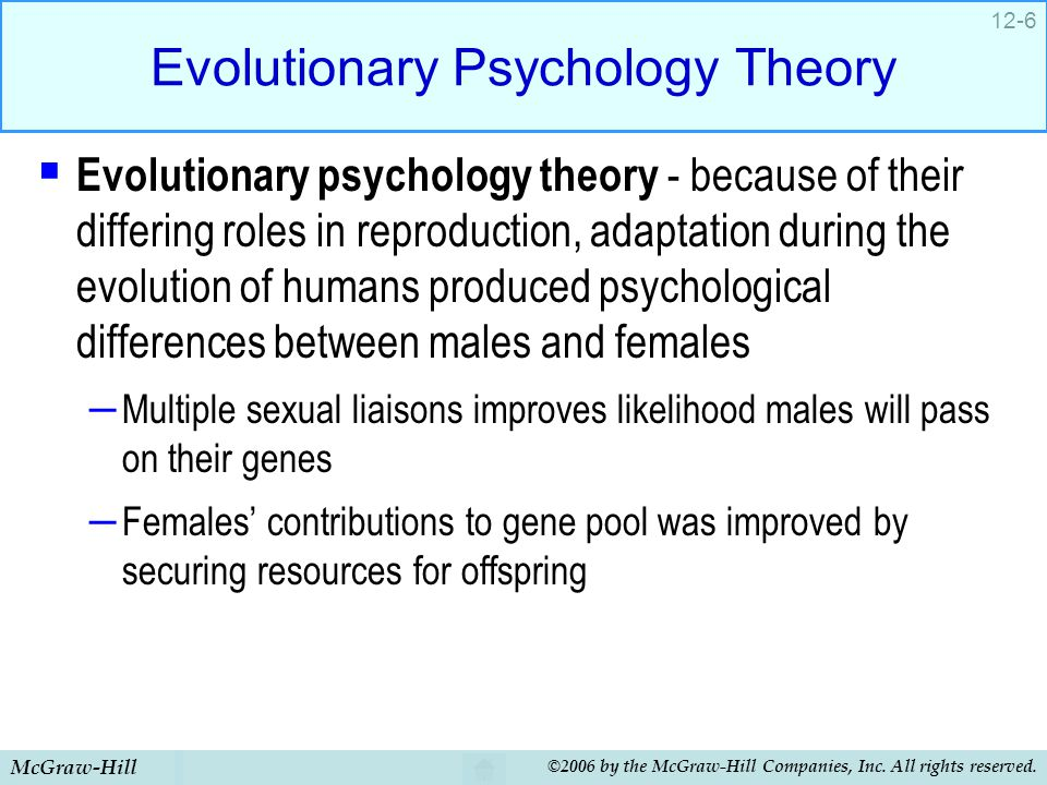 Evolutionary Psychology Theory