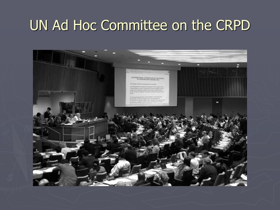 UN Ad Hoc Committee on the CRPD