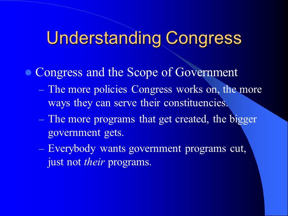 Understanding Congress