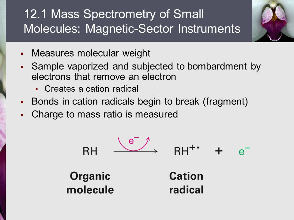 12.1 Mass Spectrometry of Small Molecules: Magnetic-Sector Instruments