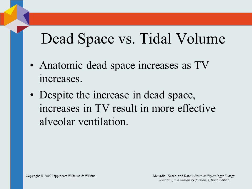 Dead Space vs. Tidal Volume