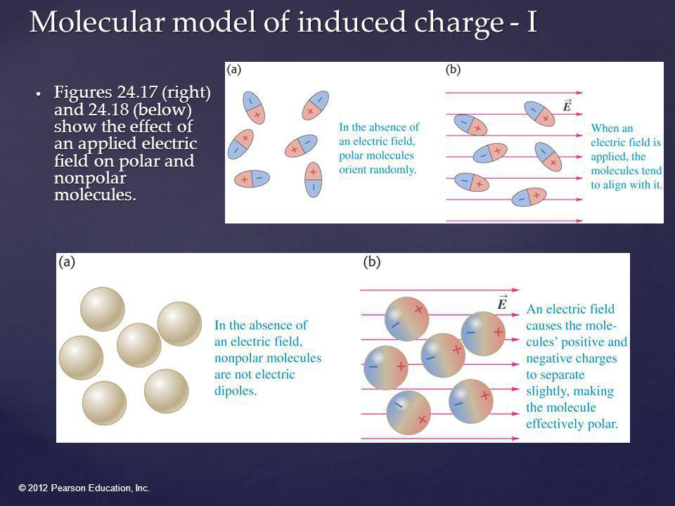 Molecular model of induced charge - I