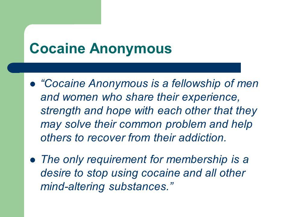 Cocaine Anonymous