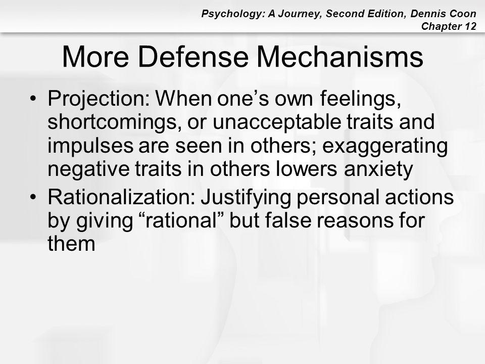 More Defense Mechanisms