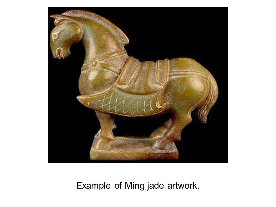 Example of Ming jade artwork.