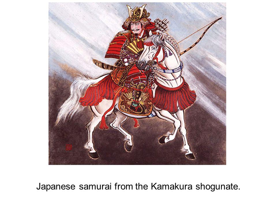 Japanese samurai from the Kamakura shogunate.