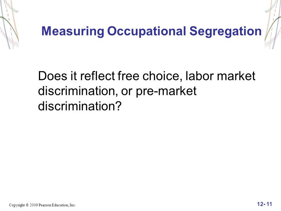 Measuring Occupational Segregation