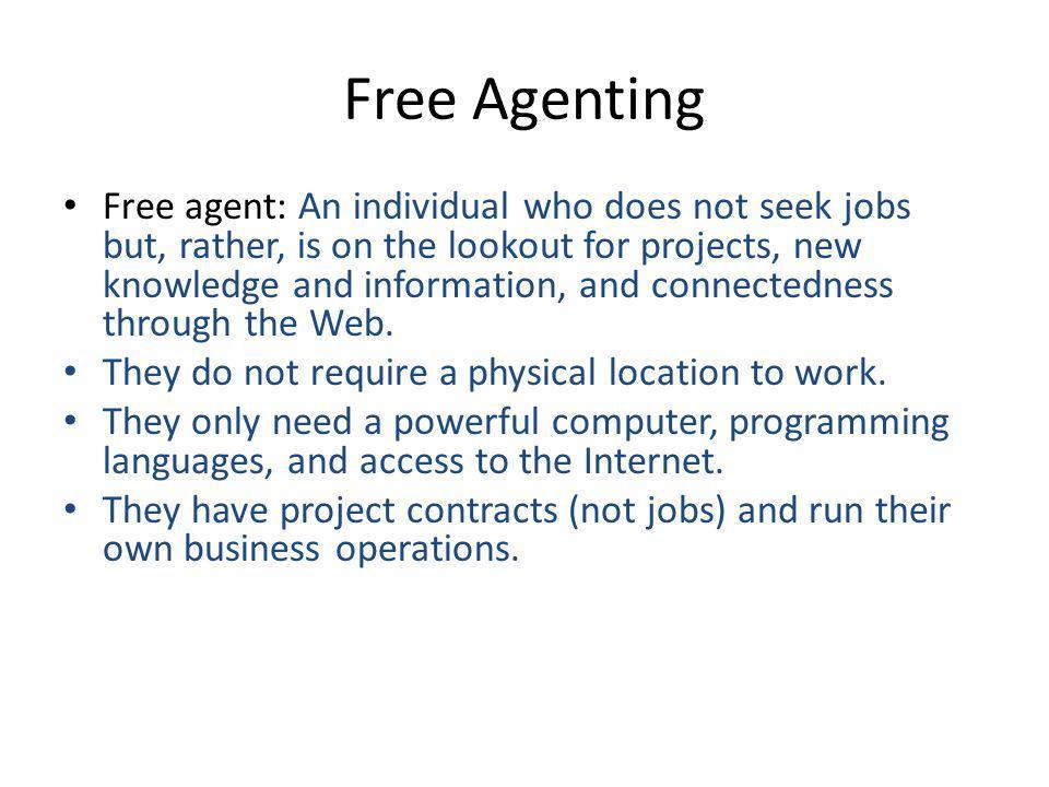 Free Agenting