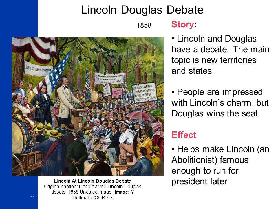 Lincoln Douglas Debate 1858