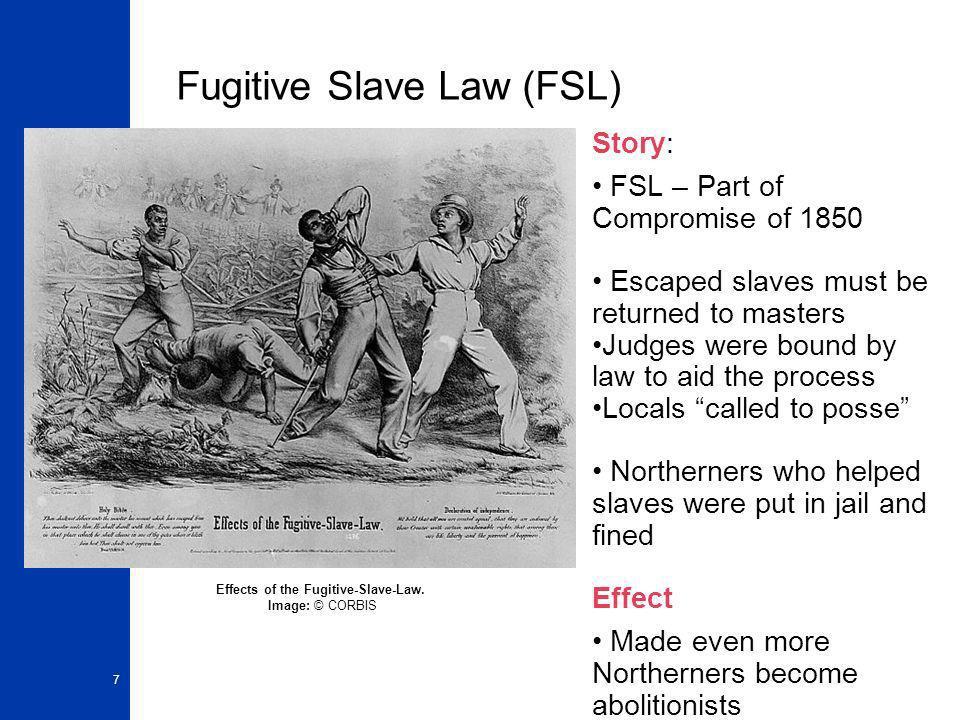 Fugitive Slave Law (FSL)