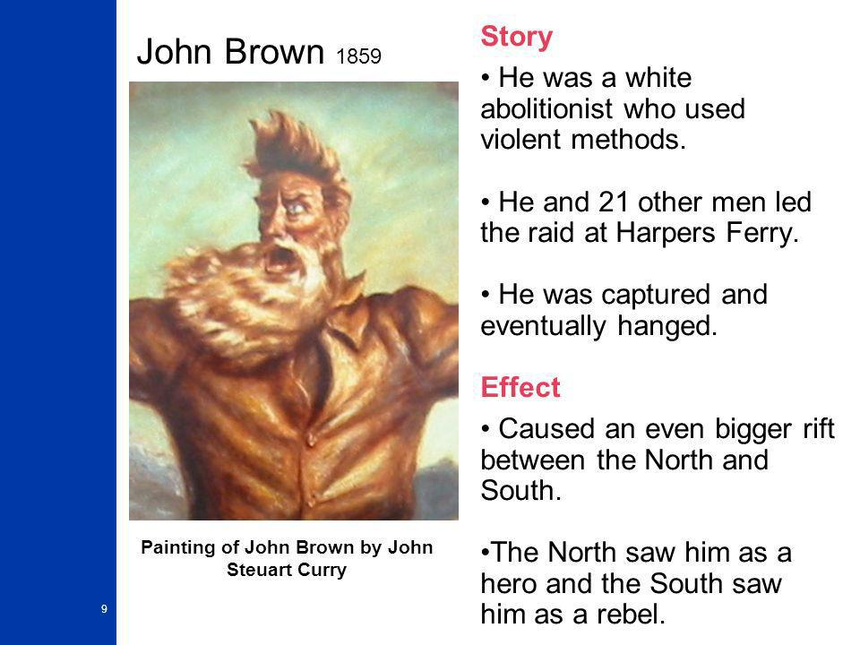 Painting of John Brown by John Steuart Curry