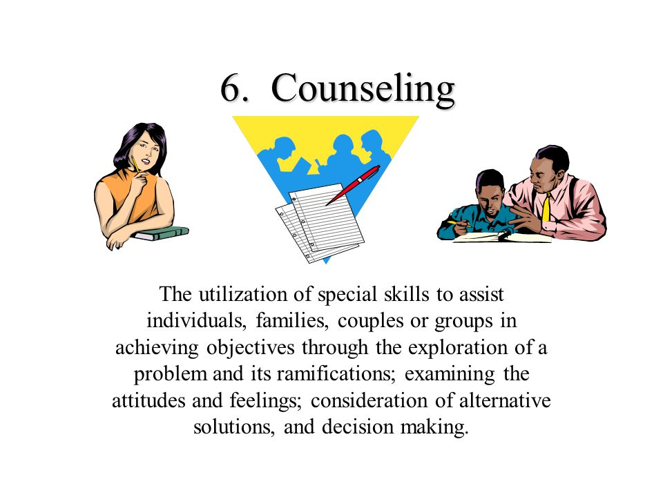 6. Counseling