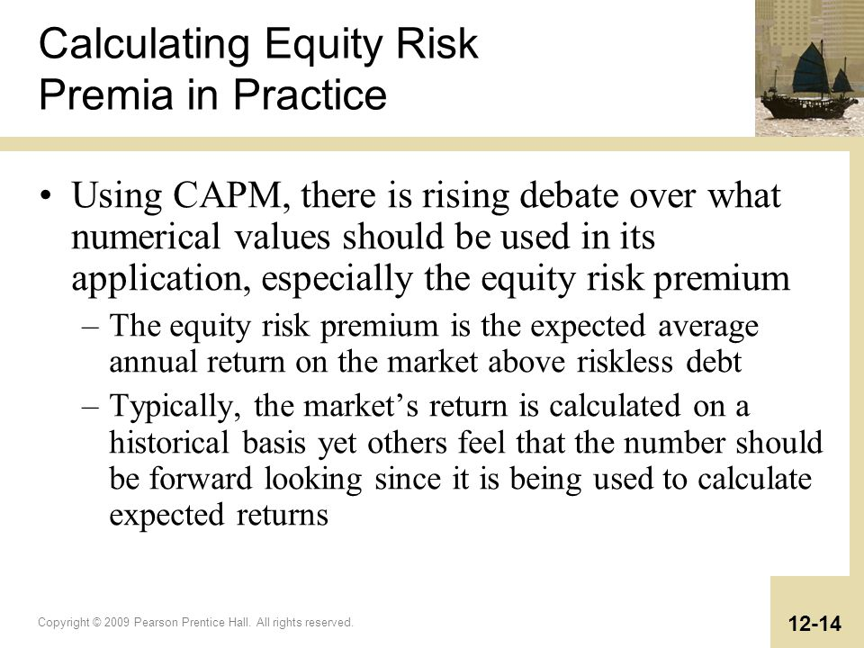 Calculating Equity Risk Premia in Practice