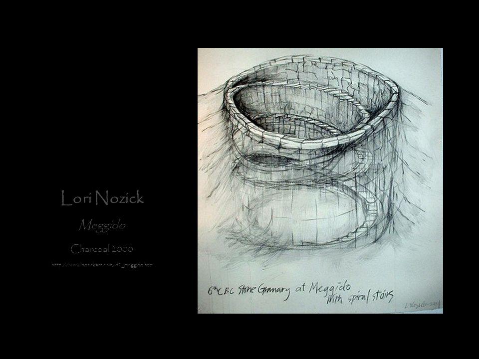 Lori Nozick Meggido Charcoal 2000